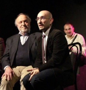 Con Renato Scarpa e Giuseppe Sommario | raffaelemagrone.it