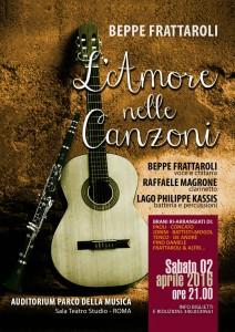 Amore nelle Canzoni | 2 aprile 2016 Auditorium Parco della Musica
