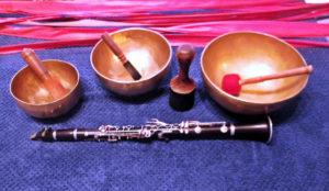 Relax sonoro campane tibetane clarinetto e olii essenziali