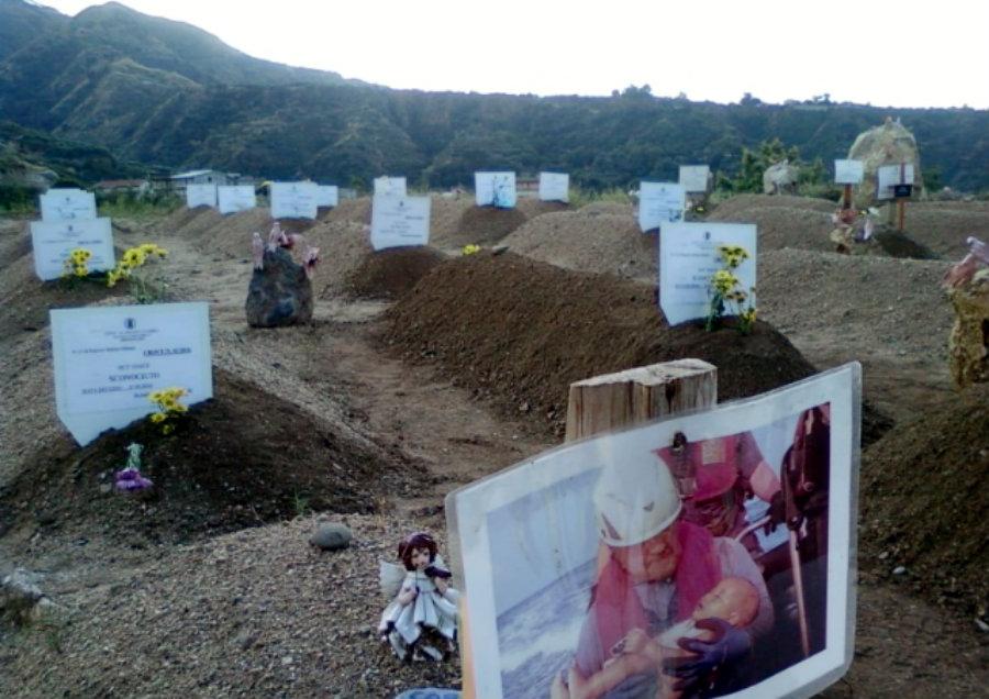 Il cimitero dei migranti ad Armo Reggio Calabria