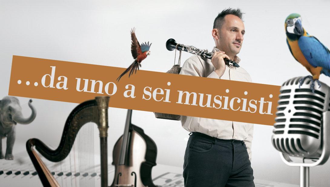 Da uno a sei musicisti a scelta per i tuoi eventi