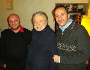 Con Beppe Frattaroli e Pupi Avati | raffaelemagrone.it