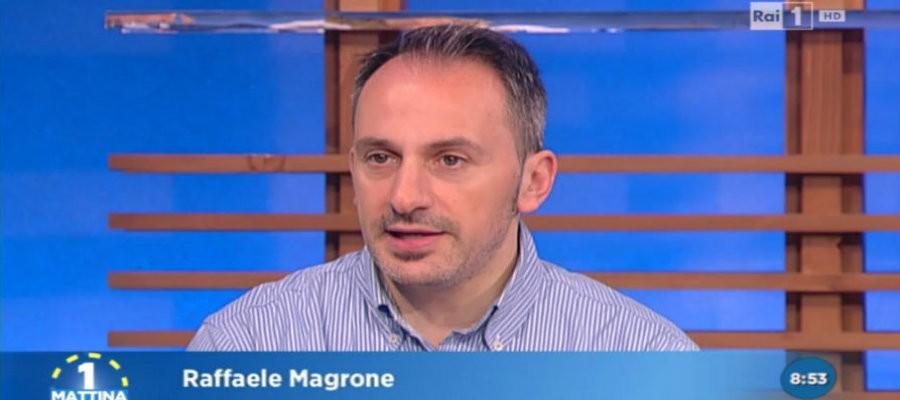 Raffaele Magrone a Uno Mattina 11 aprile 2016