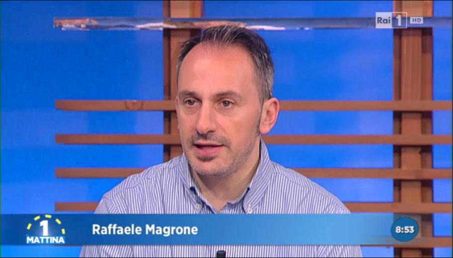 Intervista a UnoMattina con Raffaele Magrone
