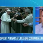 Intervista a UnoMattina Magrone display Papa Francesco