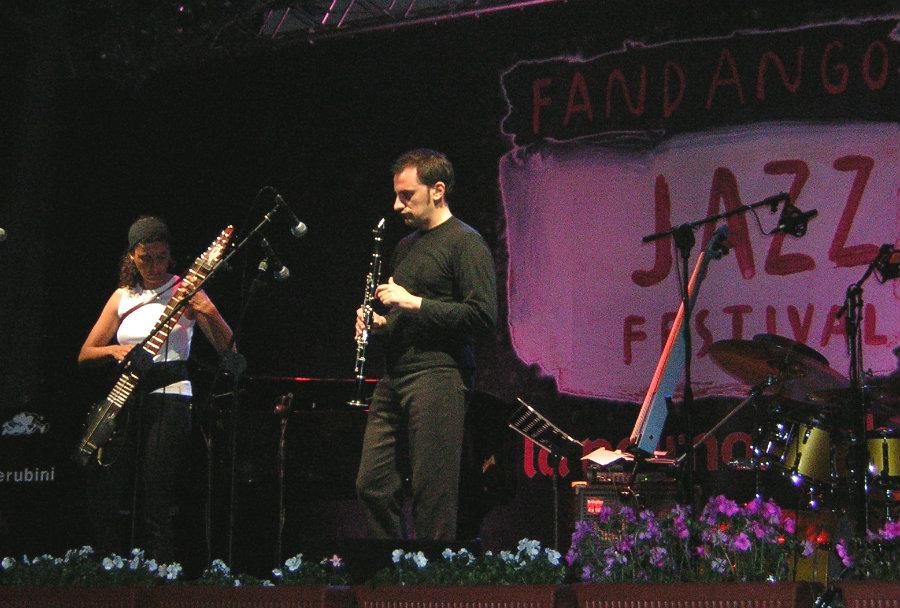 Virginia Splendore e Raffaele Magrone live al Fandango Jazz Festival