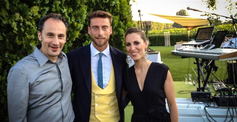 musica per eventi | con Claudio Marchisio e Chiara Calderale